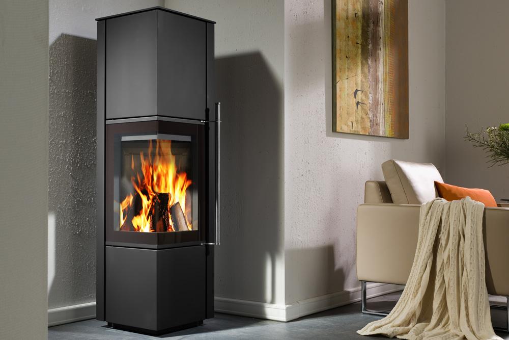 poele a bois canto ams cheminee. Black Bedroom Furniture Sets. Home Design Ideas