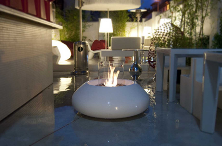 Cheminée Ethanol Outdoor Bubble Commerce