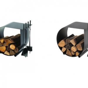 Rangement à bois & Serviteur Caracol