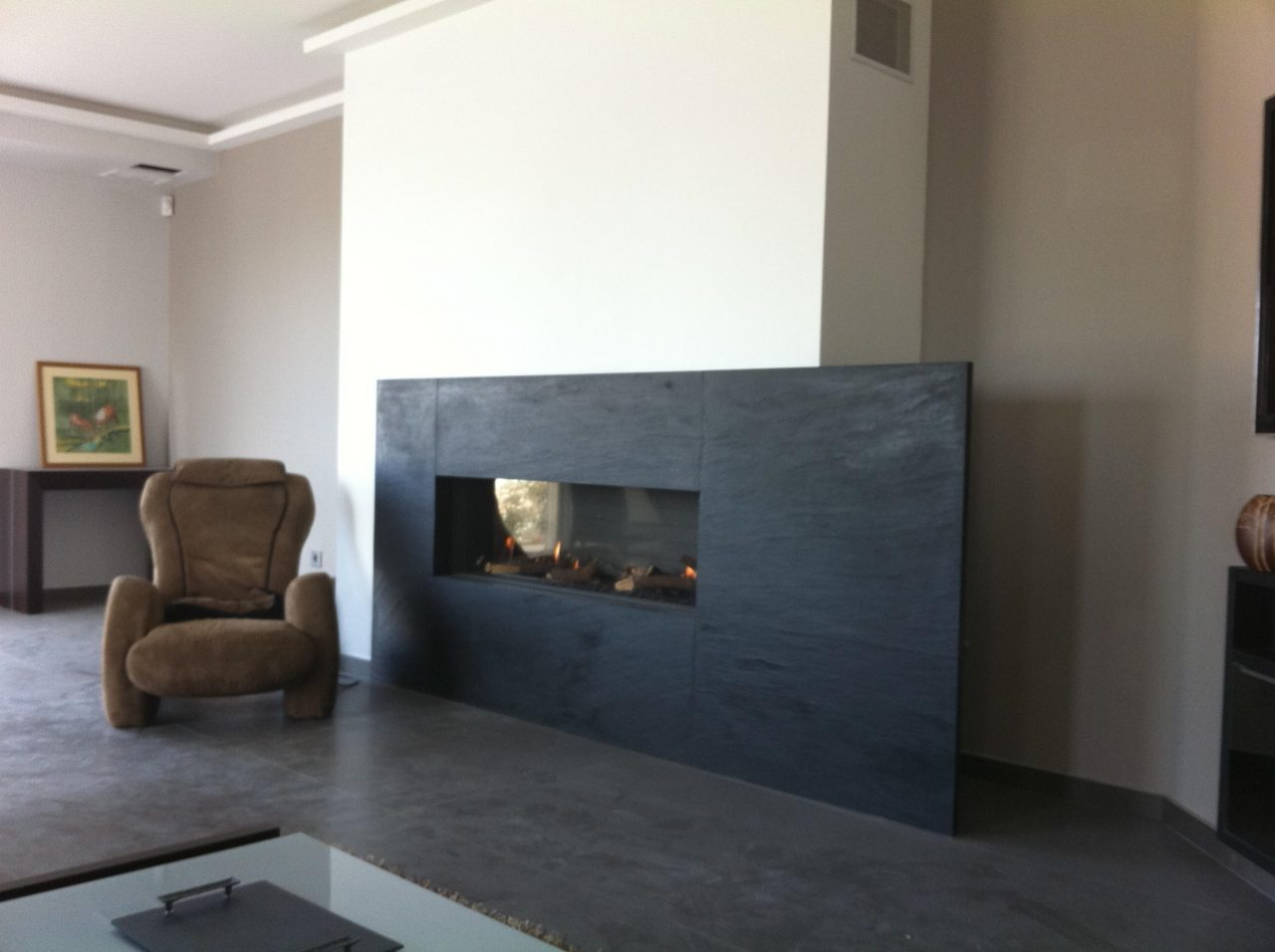 Installation dune cheminée gaz à Vence