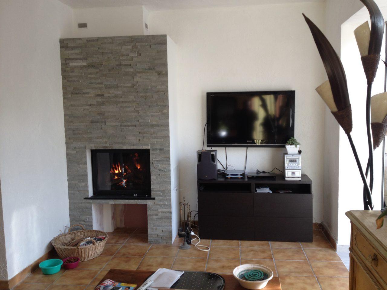 Installation d'une cheminée à Le Cannet