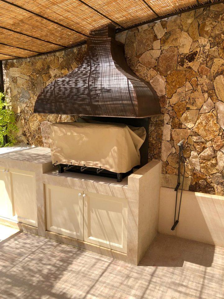 Installation d'un Barbecue sur-mesure à Mougins